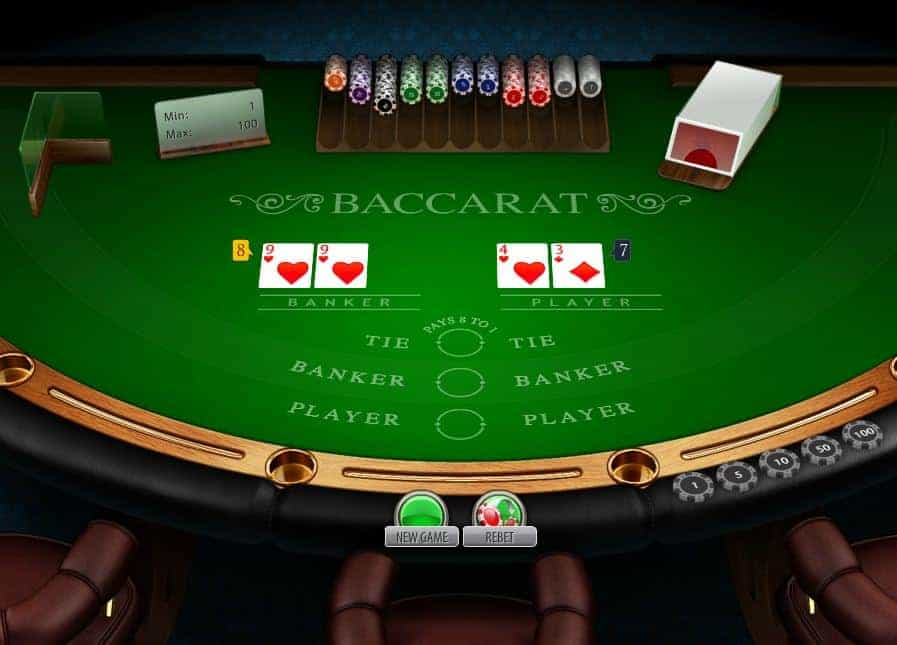 Bí kíp giành chiến thắng khi chơi game Bài Baccarat